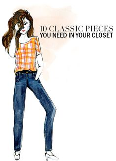 10 Classic Pieces You Need In Your Closet | theglitterguide.com