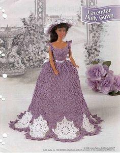 barbie fashion - free crochet pattern