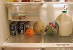 How fruits feel about being in the refrigerator.