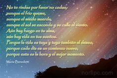 Poema de aliento de Mario Benedetti