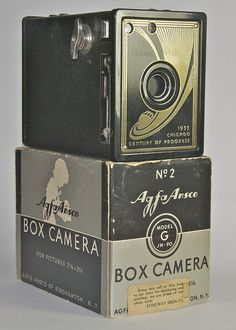 Ansco 1933 Chicago Worlds Fair Camera
