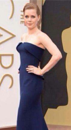 Oscars 2014 Amy Adams stuns on the red carpet via TheWrap