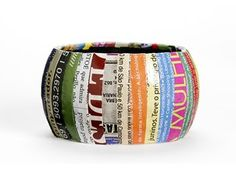 diy decoupage bracelet