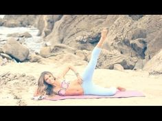 BIKINI SERIES ☀ Inner & Outer Thighs Routine! - YouTube
