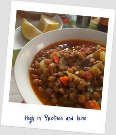 Potaje de Lentejas – Lentil Stew....yum.