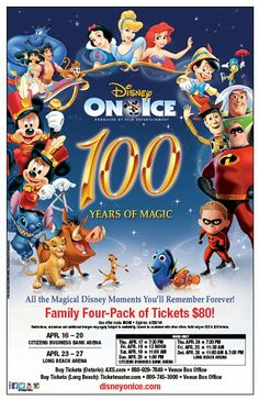DISCOUNT OFFER: Disney On Ice 100 Years of Magic #DisneyOnIce