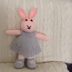 Pink toy rabbit proj