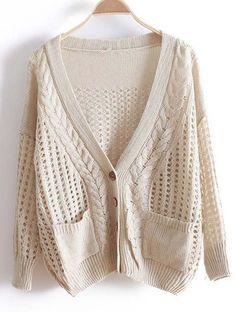 {cozy open-weave sweater}