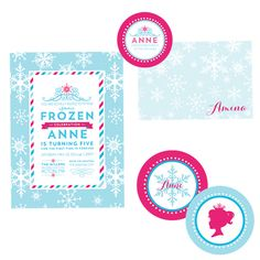 frozen inspired ice princess party by wh hostess #whhostess #frozen #iceprincess #princess #kidsparties #girlparties #snowflake #desserttable #papergoods #stationery
