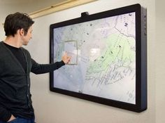 Wall-Mounted Super Tablets The Ideum MT65 Presenter Takes the Touchscreen to the Next Level