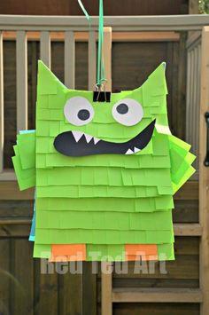 DIY Pinata: DIY Paper bags Pinata: DIY Birthday Crafts