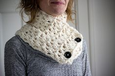 wrap neck scarf by stephchows, via Flickr