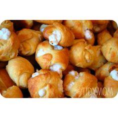 Garlic Chicken Puffs - super easy and yummy!