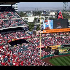 Angel Stadium - BASEBALL!