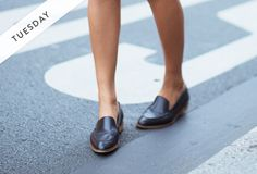 Our Guide to Wearing Flats, Seven Days A Week - Slideshow   Fashion   PureWow National