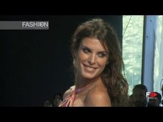 "Watch on Fashion Channel the stunning Elisabetta Canalis on the ""MISS BIKINI LUXE"" Spring Summer 2013 catwalk... lovely smile!"