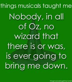 Defying Gravity- Wicked the Musical