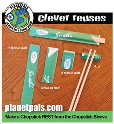 """Share your DIY Clever reuses with Planetpals for our new series """"Clever Reuses!"""""""