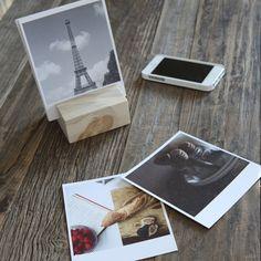 Artifact Uprising | Wood Block + Instagram Prints