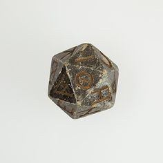 20-Sided Die | Egyptian Ptolemaic Period | 304–30 B.C