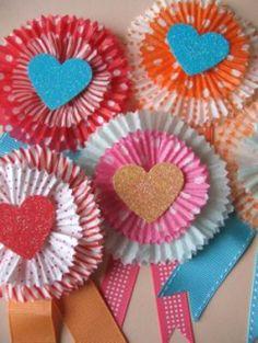 Heart Handmade UK: Party Inspiration | DIY Cupcake Liner Crafts