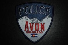 Avon Police Patch, Eagle County, Colorado (Current Issue)