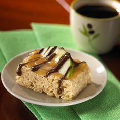 Caramel Apple Rice Krispies Treats™
