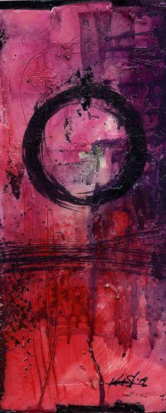 Enso.. Series ... No. mm22.. Original by Kathy Morton Stanion