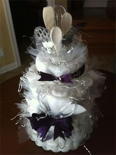 Bridal Shower Cake How-To