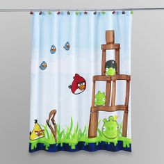 Room 365™ Kids Monster Shower Curtain | Boys Bathroom