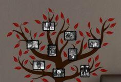 Family tree on the wall? I like it.