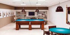 4 mesa de sinuca em casa