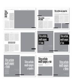 MagSpreads - Editorial Design and Magazine Layout Inspiration: Schuss n°77Magazine