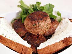 Beer Braised Beef Meatballs with Horseradish Sauce Recipe : Rachael Ray : Food Network - FoodNetwork.com
