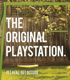 swing sets, play outside, growing up, video games, kids, go outside, childhood obesity, true stories, origin playstat