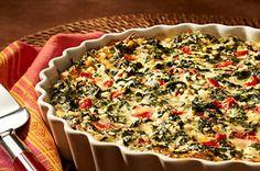 Quick Italian Spinach Pie recipe
