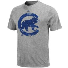 Majestic Chicago Cubs Dramatic Struggle T-Shirt - Ash