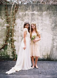 A Delicate Tuscan Inspired Outdoor Wedding