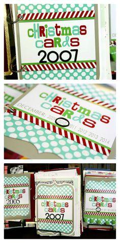 holiday, christma card, christmas cards, books, craft, idea, card book, xmas card, scrapbook