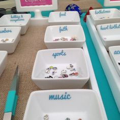 PRINTED Origami Owl Charm Labels ANY color Ships by laPradesign, $6.00  Need these!