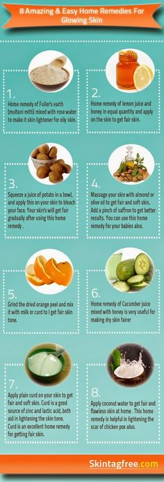 8 amazing & easy home remedies for glowing skin