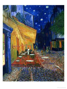 IF I was an Artist, I too would have painted this one! Oh, Van Gogh! :)