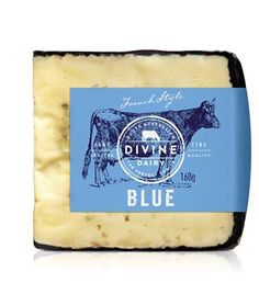 Blue cheese packaging