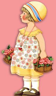 Mary Engelbreit - could use on easter card.  There are tons of Mary Engelbreit cards at this site.
