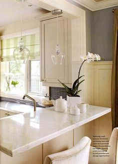 sarah richardson kitchen ideas   Designers tear down a wall and play up a fresh mix of old-fashioned ...
