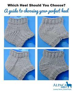 Choosing a heel for your sock