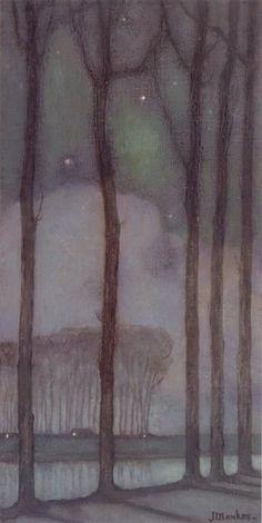 Jan Mankes - Maannacht (1914)