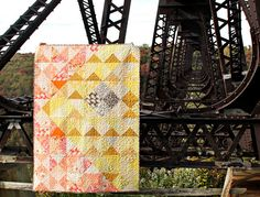 An Autumn Sun Quilt -- Kinzua Bridge. Lots of other beautiful photos at this link. Maureen Cracknell.