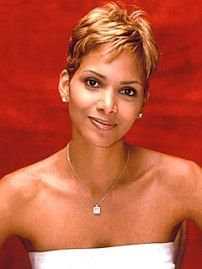 Short Black Hair Style - Halle Berry Short Hairstyles | BWBC