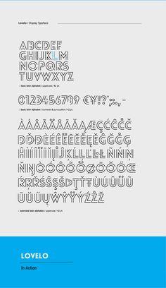"""""""Lovelo font"""" by Renzler Design"""